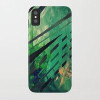 malachite iPhone & iPod Cases featuring MALACHITE by Matt Schiermeier