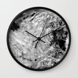 Boiling thermal water Wall Clock