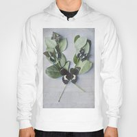 botanical Hoodies featuring Butterfly Botanical  by Pure Nature Photos