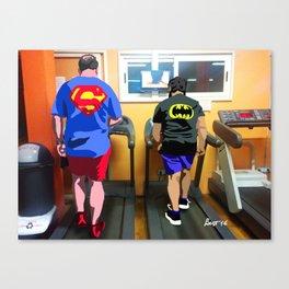 La fabbrica dei supereroi #1 Canvas Print