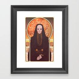 Reverend Mother Framed Art Print