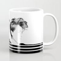 tegan and sara Mugs featuring Tegan & Sara by MeMRB