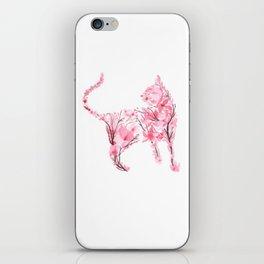Cherry Blossom Cat 2 iPhone Skin