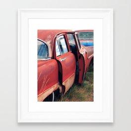 Caught Red & Handled Framed Art Print