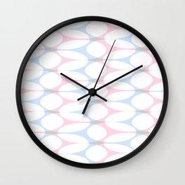 Soft pattern 02 Wall Clock