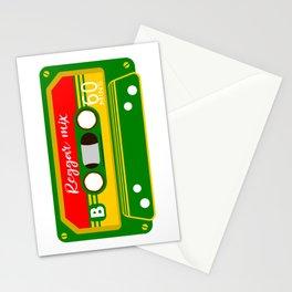REGGAE MIX TAPE Stationery Cards