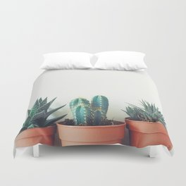 Potted Plants Duvet Cover