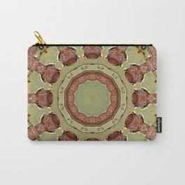Rust-Mandala 01, Colors of Rust, ROSTart Carry-All Pouch
