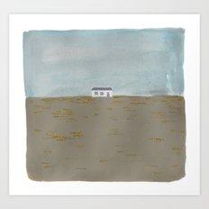 icelandic landscape Art Print