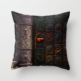 Dooring Throw Pillow