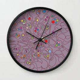 Microcosm IV Wall Clock
