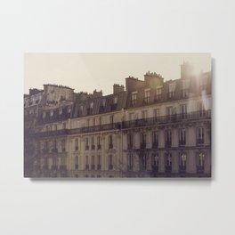 Paris Sunrise Metal Print