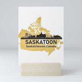 Saskatoon Canada Mini Art Print