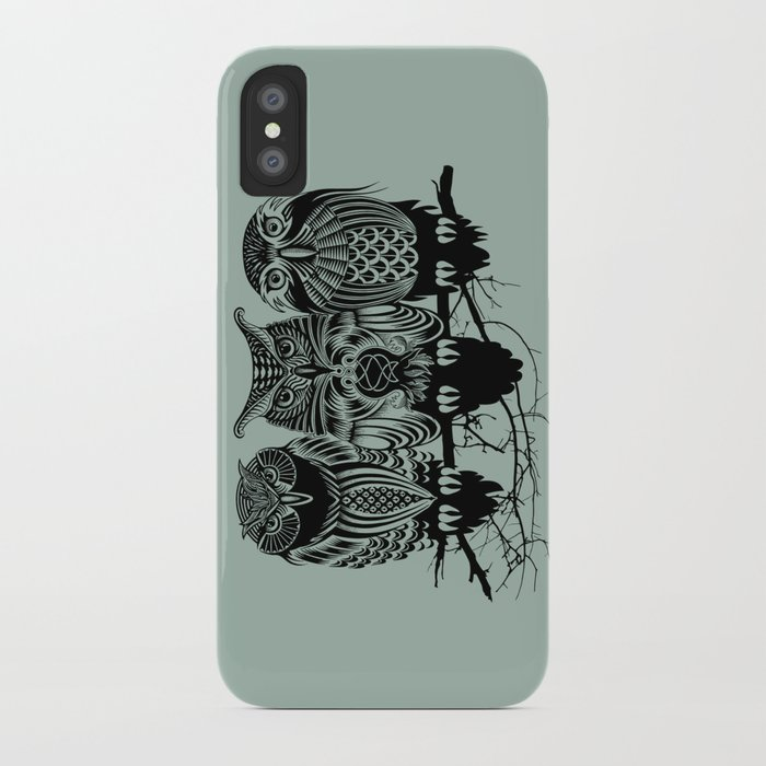 Owls of the Nile iPhone Case