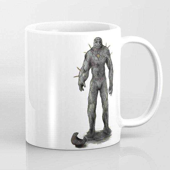 Jewish stone Golem Coffee Mug