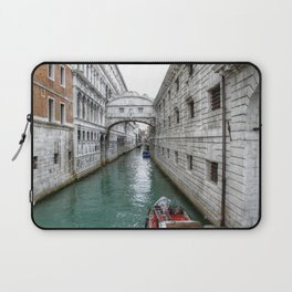 Venezia- Water Main street Laptop Sleeve