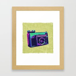 Vintage Camera II Framed Art Print