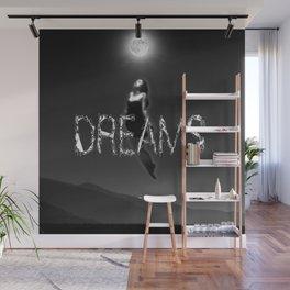Dreams and moon Wall Mural