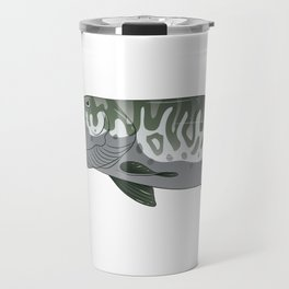I Fish Muskies Everthing Else Is Bait Musky Pike Travel Mug
