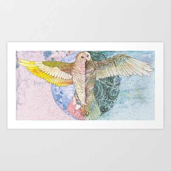 Print For Sale - From Above Art Print
