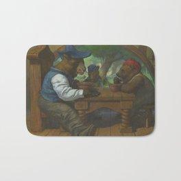 The Three Bears Eating Porridge Bath Mat