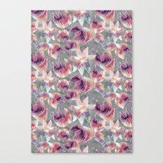 watercolor floral Canvas Print