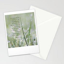 Teresa of Avila Quote Stationery Cards