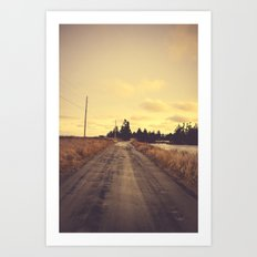 The Road Not Taken Art Print