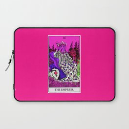 3. The Empress- Neon Dreams Tarot Laptop Sleeve