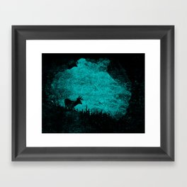 Patronus in a Dream Framed Art Print