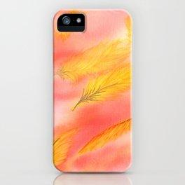 Blush Gold Skies iPhone Case