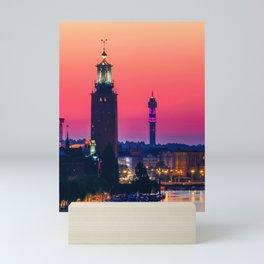 Stockholm, Dawn Mini Art Print