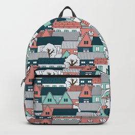 A lot of Houses Backpack