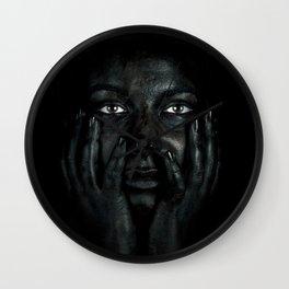 Black 03 Wall Clock