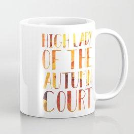 High Lady of the Autumn Court Coffee Mug