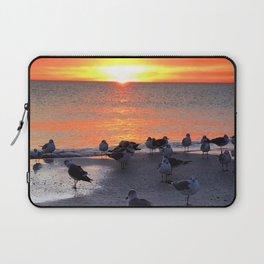Shore Birds Laptop Sleeve