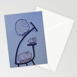 Cien Pies sobre una Hoja Stationery Cards