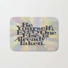Be Yourself Bath Mat