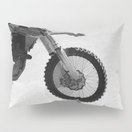 Motocross Dirt-Bike Racer Pillow Sham