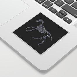 Unicorn Fossil Sticker