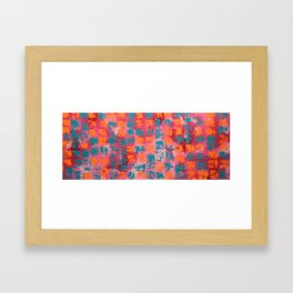 Abstract - Tickled Pink Framed Art Print