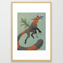 Spring Julip Framed Art Print
