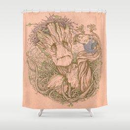 Groot Fan Art Shower Curtain