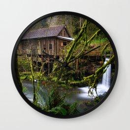Cedar Creek Grist Mill Wall Clock