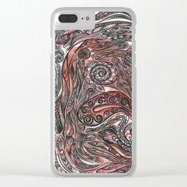 Snake magic Clear iPhone Case