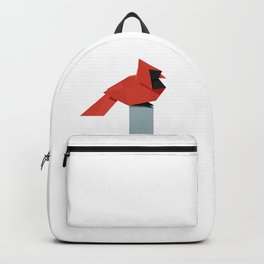 Origami Cardinal Backpack
