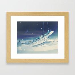 Home. Framed Art Print