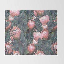 Proteas party Throw Blanket