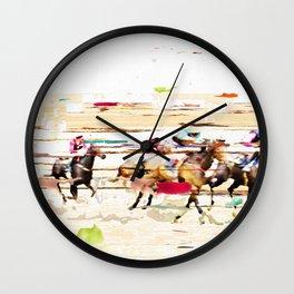 colour race 2 Wall Clock