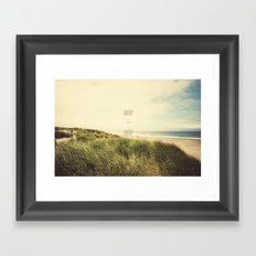 wonder + wander Framed Art Print